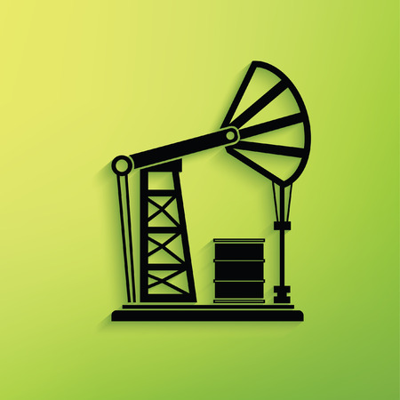 Oil industry concept design,clean vector