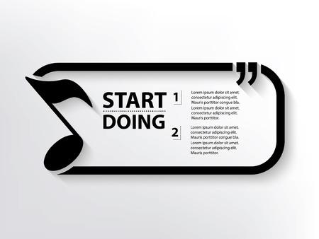 Sound concept design,clean vector