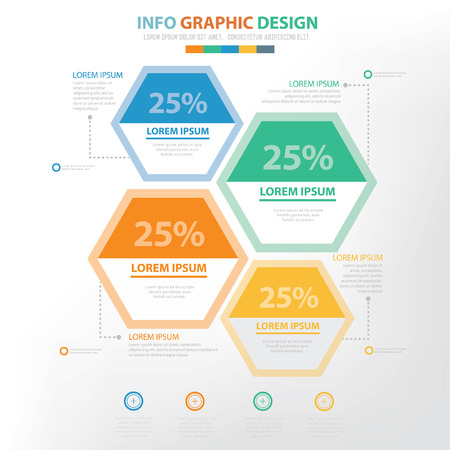 demography: Info graphic concept design,clean vector