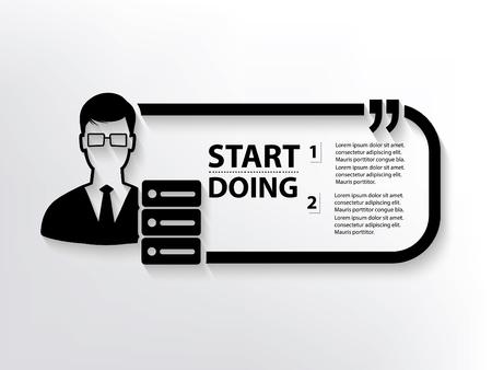 admin: Admin concept design,clean vector