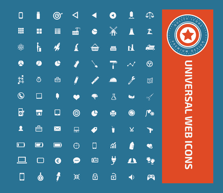 christmas cake: Universal web icon set design, clean vector Illustration