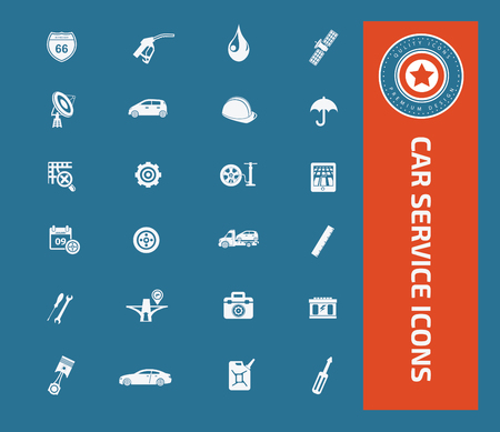 spare: Car service icon set design,clean vector Illustration