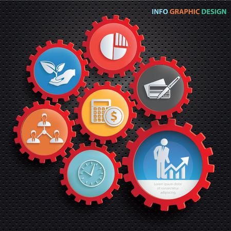 Business concept design,clean vector