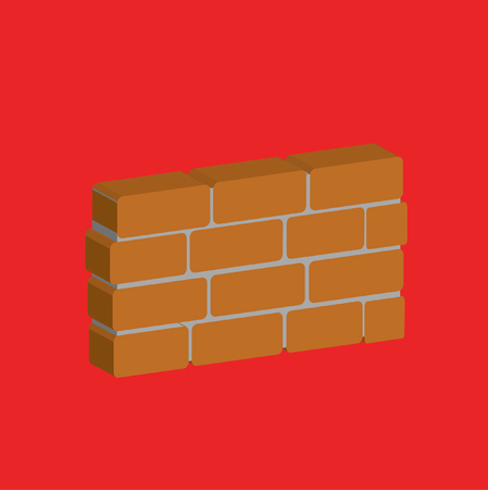 Wall design,clean vector Illusztráció