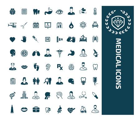Medical icon set vector design