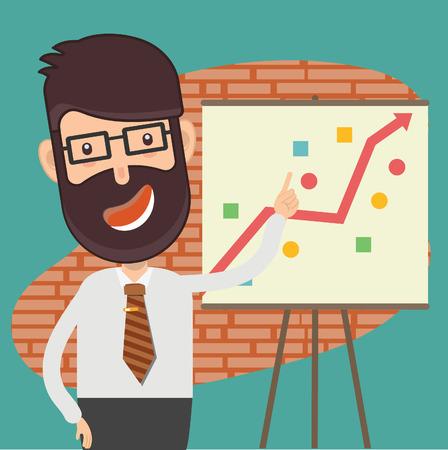 Businessman vector design Illustration