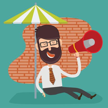 Businessman concept vector design