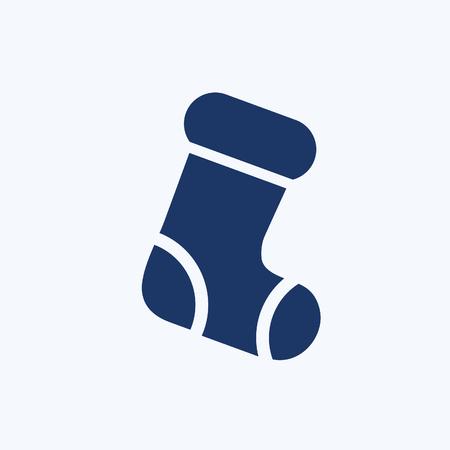 Sock icon vector design Stok Fotoğraf - 107222934