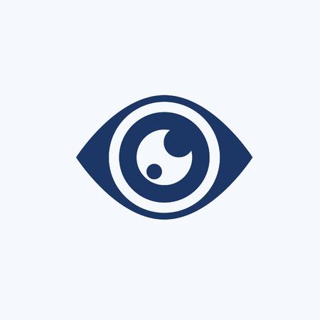 Eye icon vector design