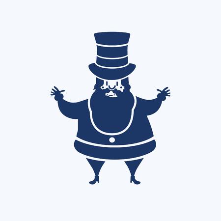 Santa claus icon vector design