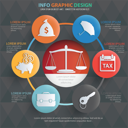 Business vector design