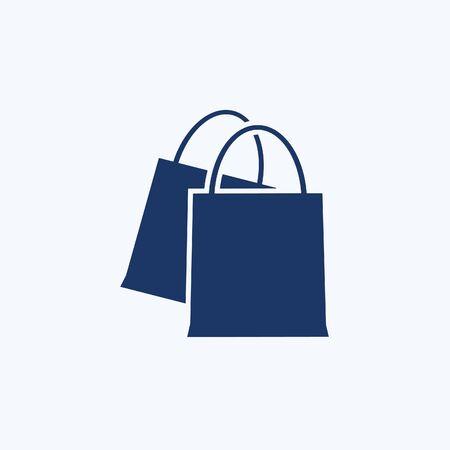Shopping bag icon vector concept design 向量圖像