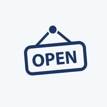Open vector icon design