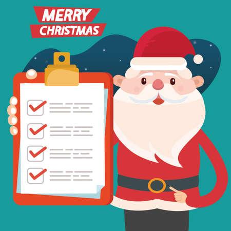 Merry christmas vector concept design