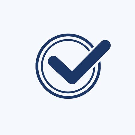 Checking icon vector concept design