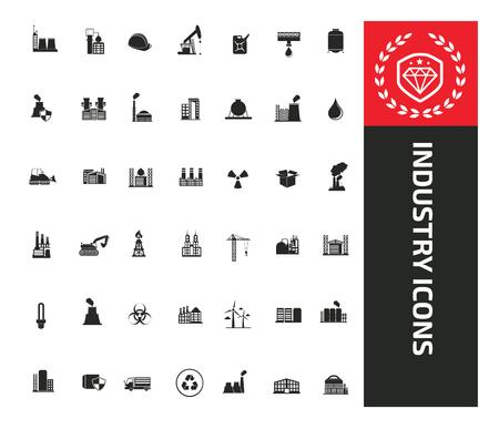 Industrial icon vector concept design