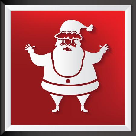 Santa clause vector concept design  イラスト・ベクター素材