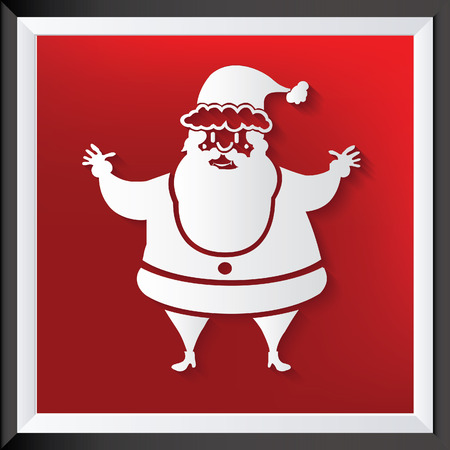Santa clause vector concept design Illustration