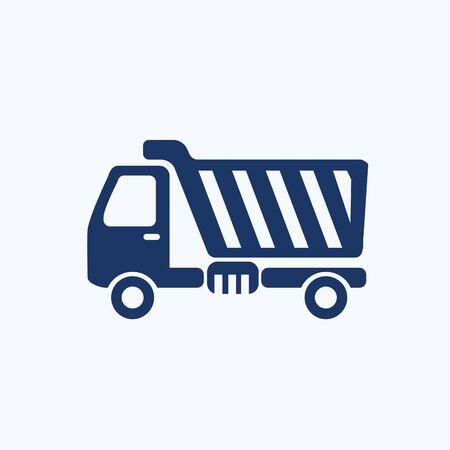 Truck vector icon design Stok Fotoğraf - 131668628