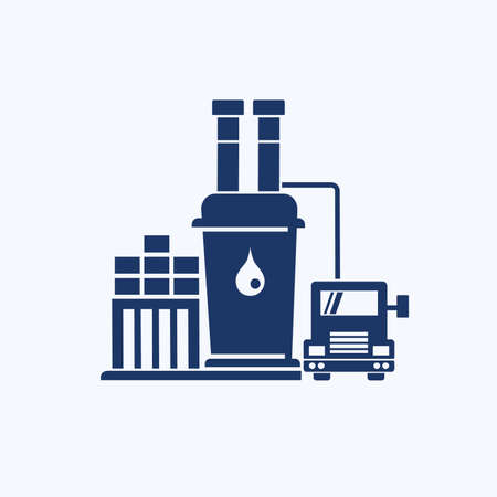 Oil energy industry vector icon design