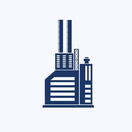 Industrial vector icon design