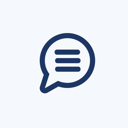 Speech vector icon design Standard-Bild - 137130963