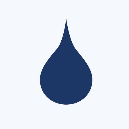 Water drop vector icon design