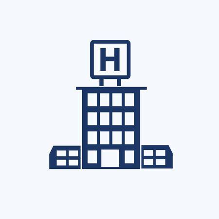 Hospital vector icon design Stok Fotoğraf - 131668852