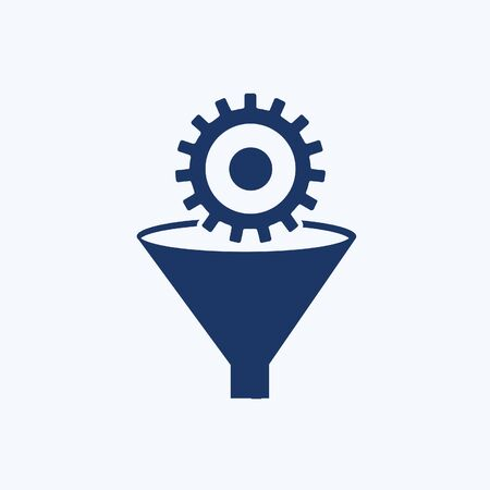 Gear vector icon set design Illustration