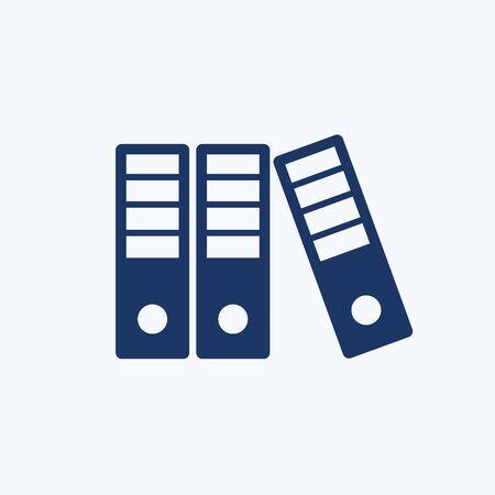 Folder vector icon design Illustration