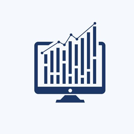 Data analysis vector icon design Stok Fotoğraf - 129959933
