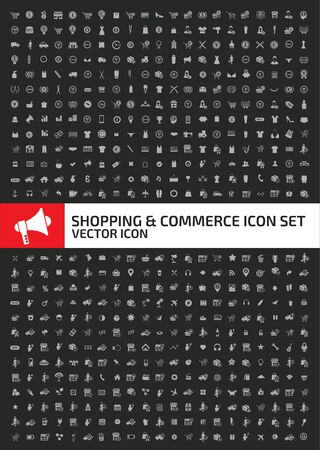 Shopping and e-commerce vector icon design