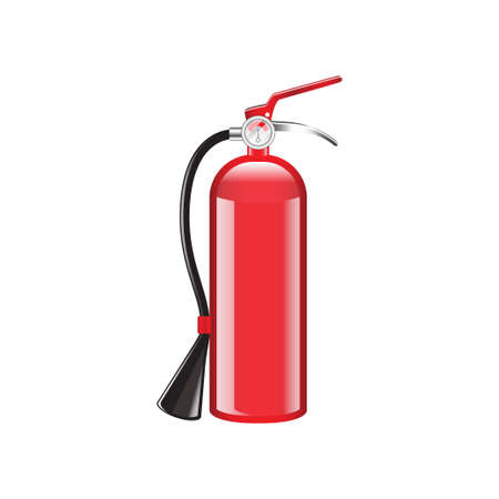 Fire Extinguisher vector isolated on white background Иллюстрация