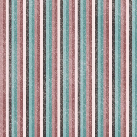 Rose, blue and cream striped grunge background
