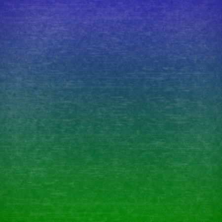 Gradient distressed grunge abstract background in blue and green