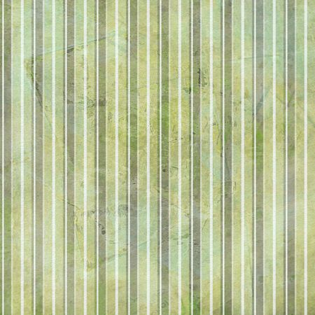 Striped background in distressed grunge shabby style in greens. Фото со стока