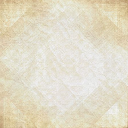 browned: Old vintage wrinkled antique paper