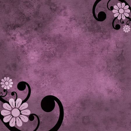 Grunge dirty background in purple, pink and black