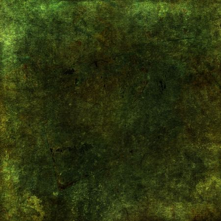 Green moss colored grunge background with texture