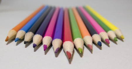 striving: colored pencils purposeful striving toward the goal