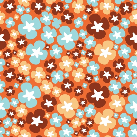 Floral - seamless pattern