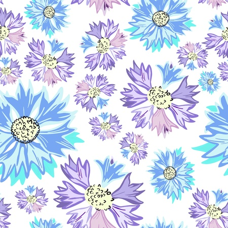 Floral - seamless pattern Stock Vector - 15773971