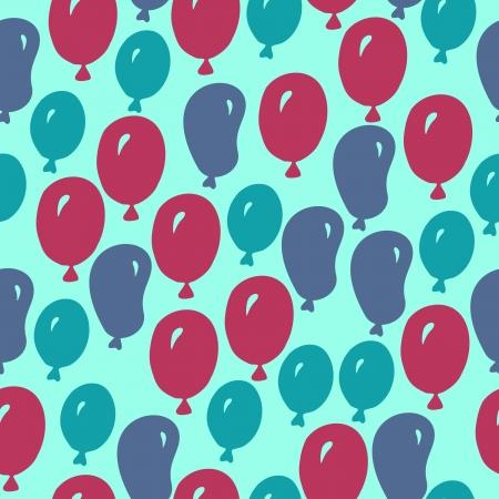 Ballons seamless Illustration