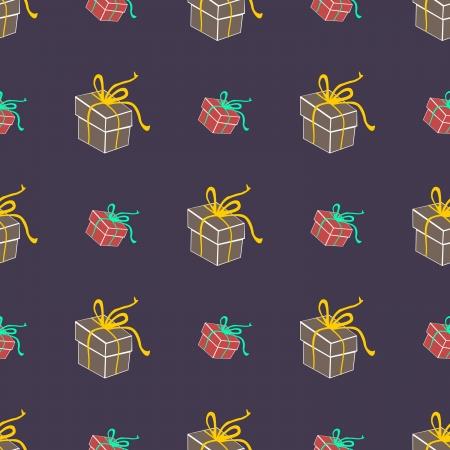 Gifts - seamless pattern