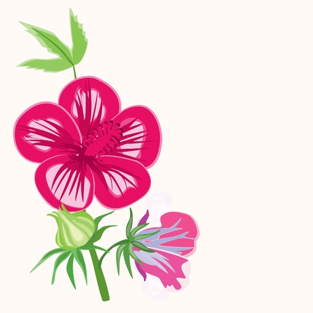Flower background Stock Vector - 15773266
