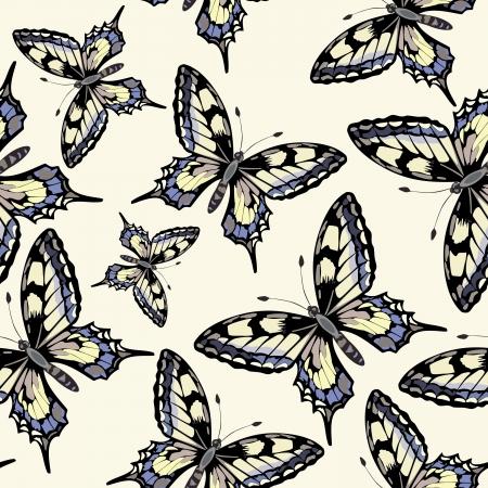 butterfly - seamless pattern