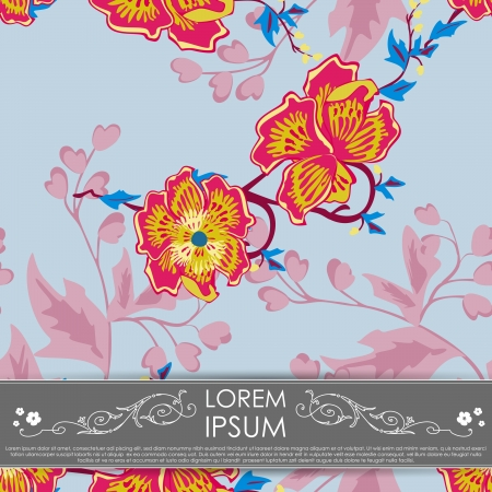 Floral card Stock Vector - 16051871