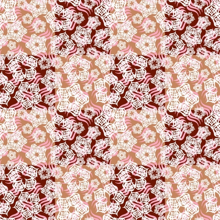 tolerable: Decorative seamless pattern Illustration