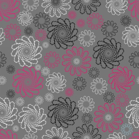 Decorative, seamless pattern Vector