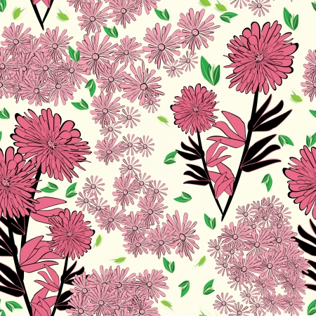 tolerable: Floral - seamless pattern
